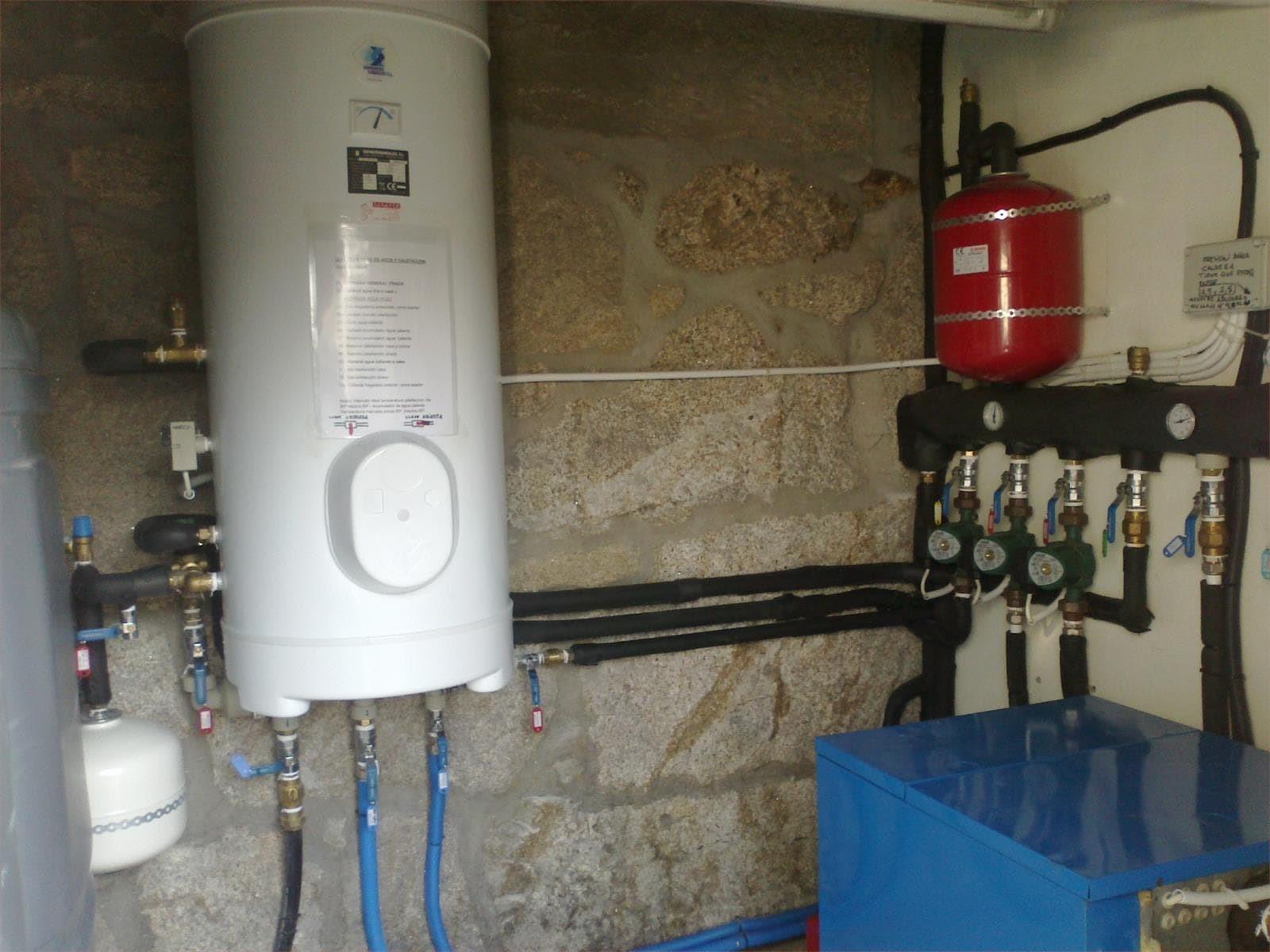 Calentadores y termos - Acumulador de agua electrico ...